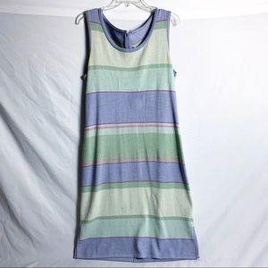 St. John Collection Striped Knit Dress